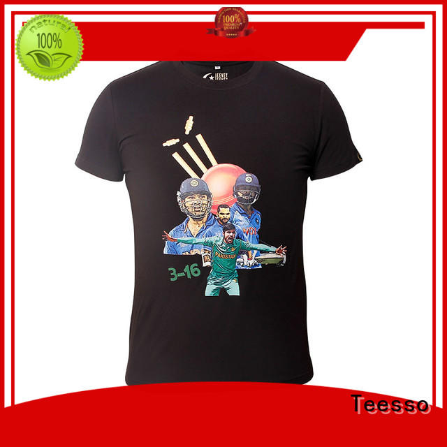 Teesso men's fashion t shirts supply for promotion