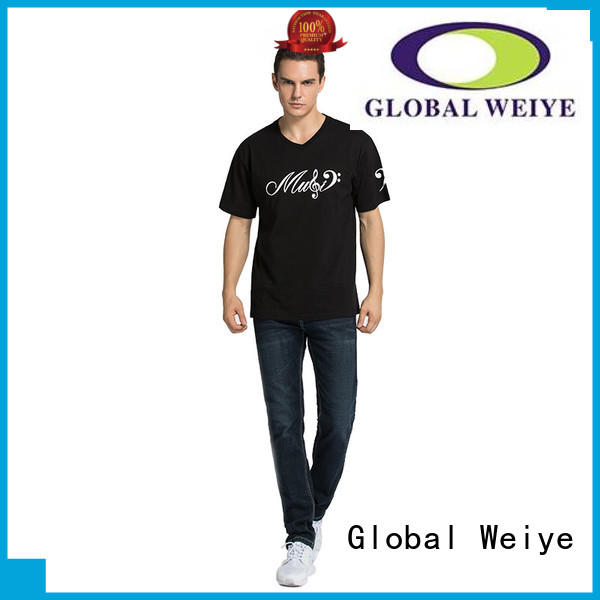 Global Weiye multi colour  shop mens t shirts manufacturer wholesalers