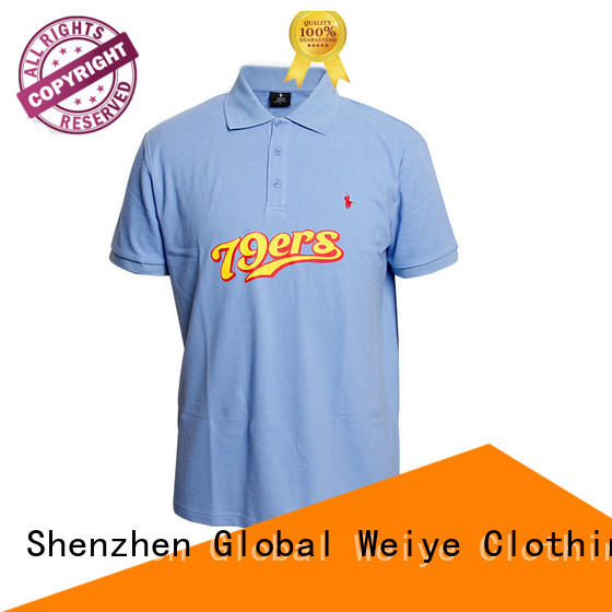 Global Weiye oem best mens polo shirts shirt