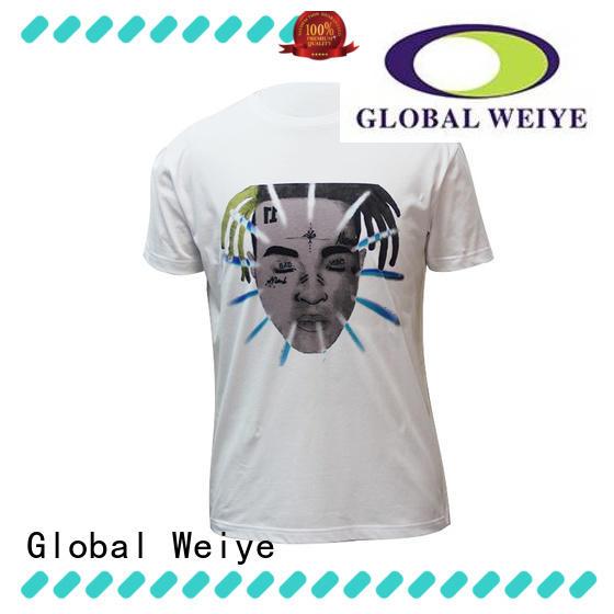 Global Weiye high quality mentshirt manufacturer for festival