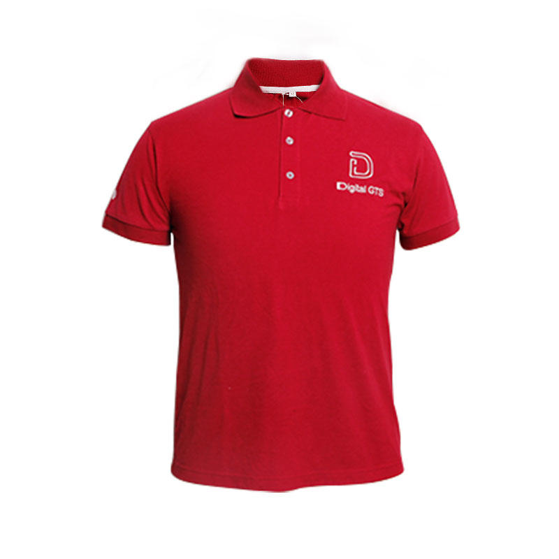 Polo shirt 100% Cotton High Quality Custom Embroidery