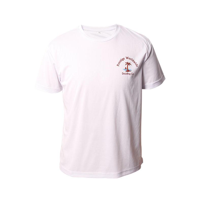 Man t-shirt Custom Logo Printing Round neck Short Sleeves