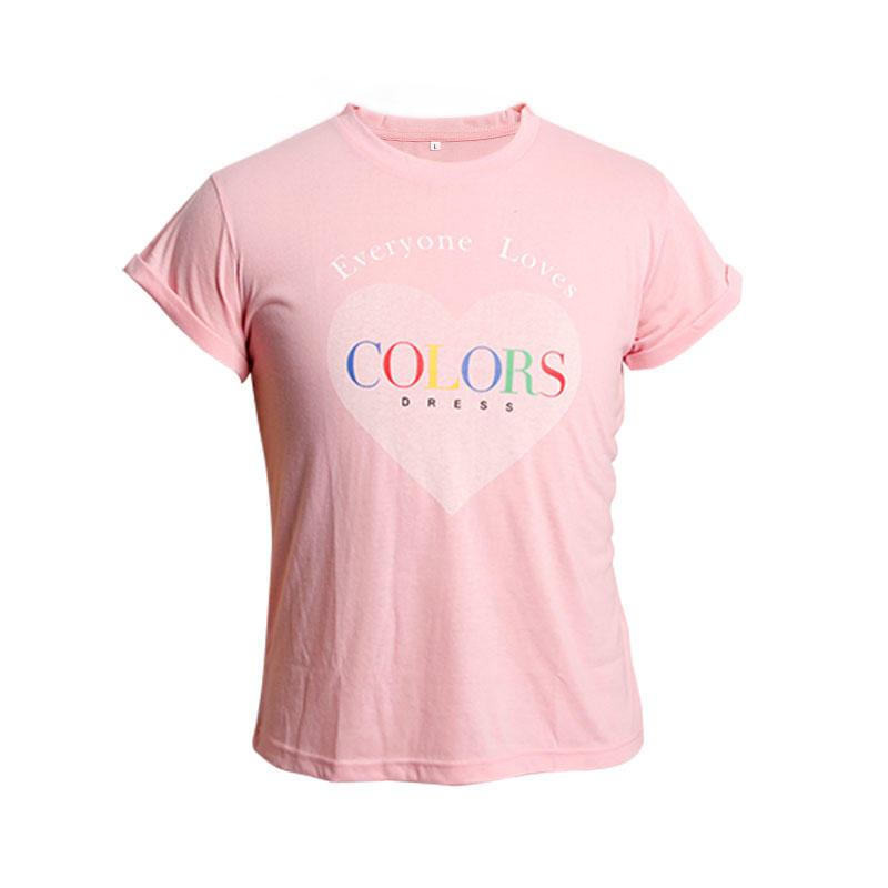 Men T Shirt 100% Custom Cotton Cheap Printed Round Neck