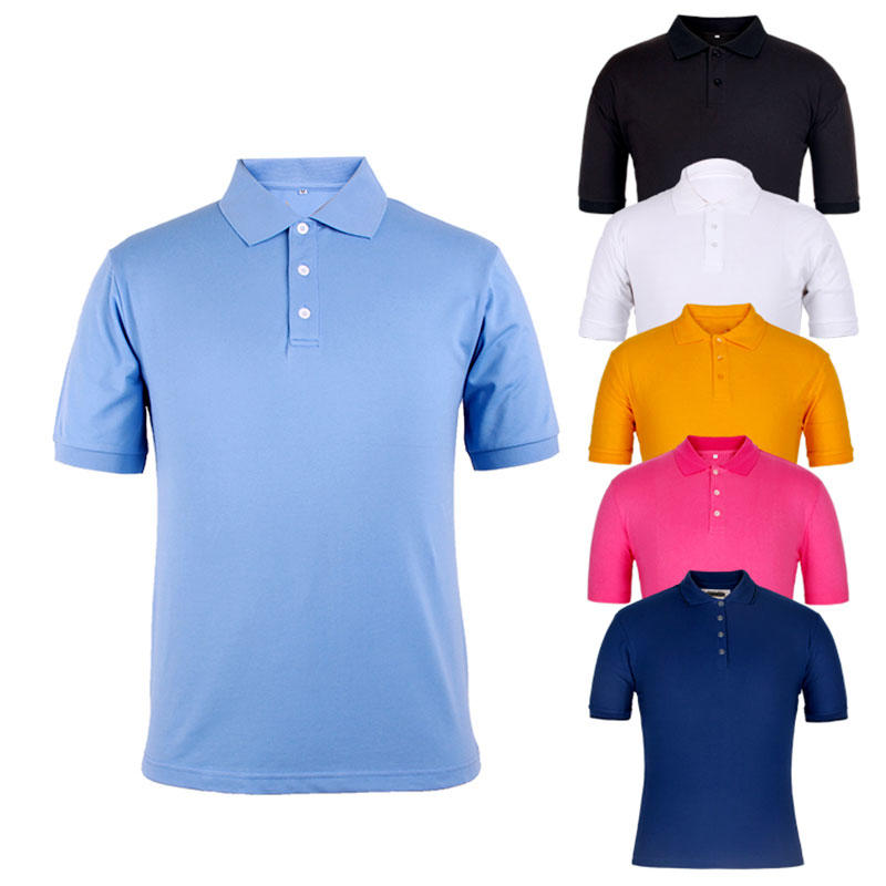 Polo shirt China factory high quality 100 cotton pique design your own logo