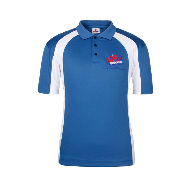 Polo shirt China factory high quality 100 cotton pique design your own logo