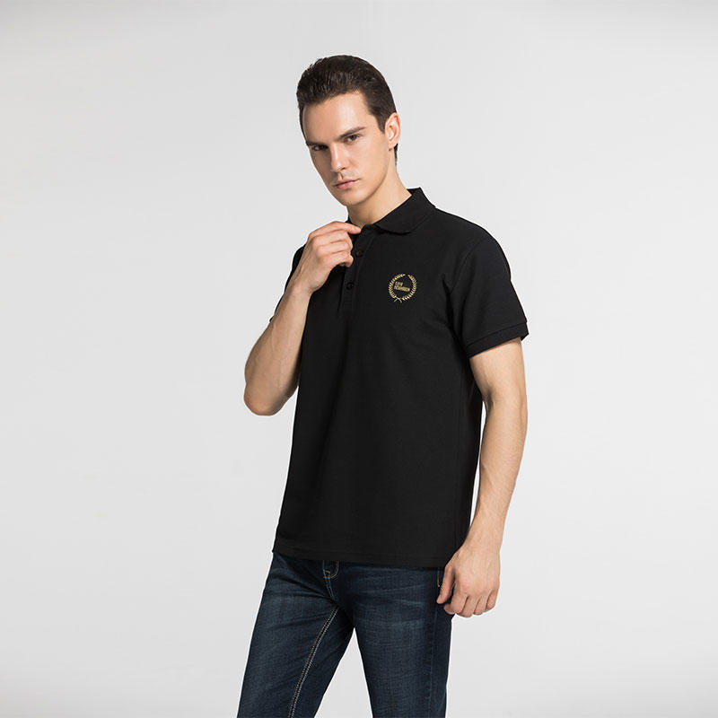 short sleeve polo polo  from china Global Weiye