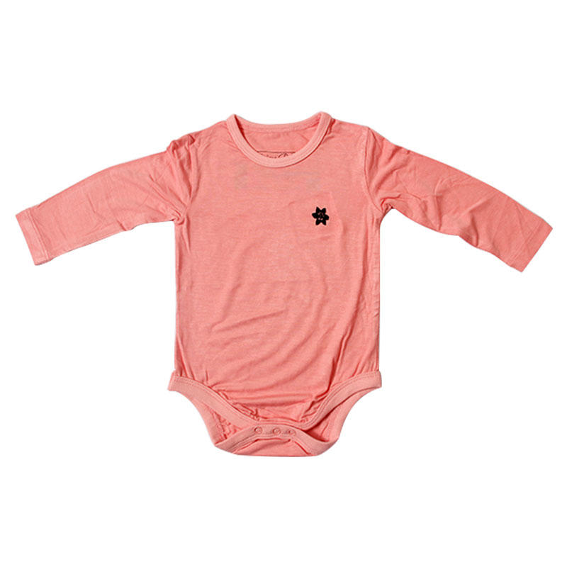 Baby romper custom 100% cotton long sleeve in china
