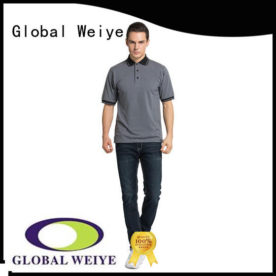 Hot polo shirts t shirts band Global Weiye Brand