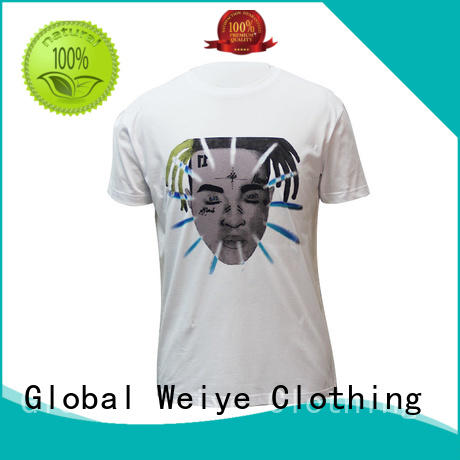 mens casual tee shirts standard printing Bulk Buy beautiful Global Weiye