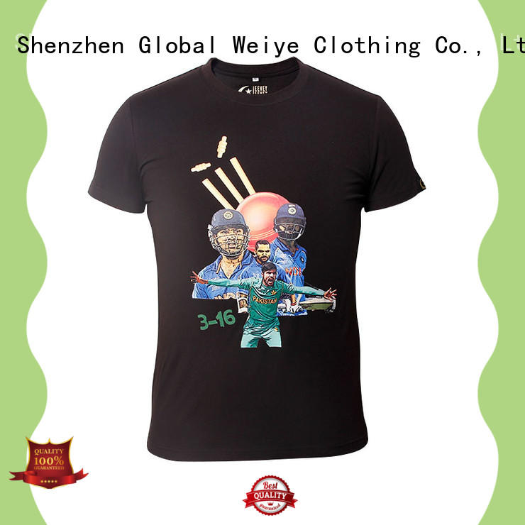 Global Weiye cool t shirts for men supplier for promotion