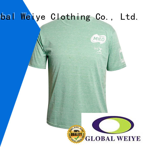 printing mens mens casual tee shirts Global Weiye Brand