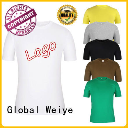 hot sale mens colourful t shirts high quality for men Global Weiye