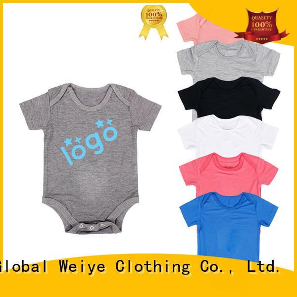 Custom made long tiny baby clothes Global Weiye baby