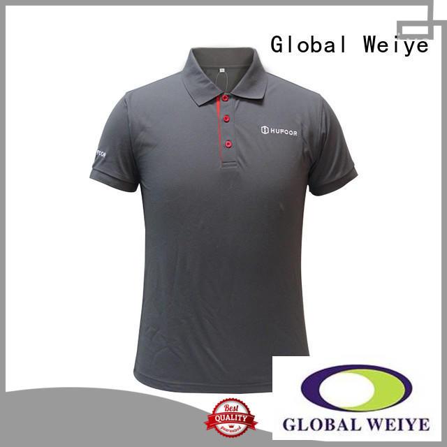 polo long sleeve mens polo shirt Global Weiye