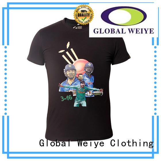Quality Global Weiye Brand mens casual tee shirts mens
