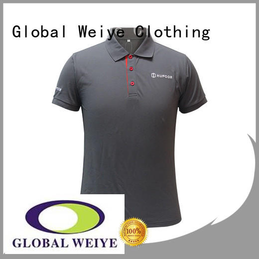 Global Weiye pockets mens polo style shirts high quality