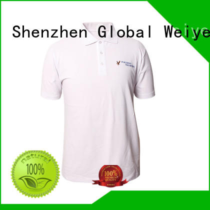 Global Weiye collar polo tee shirts mens hot sale for men