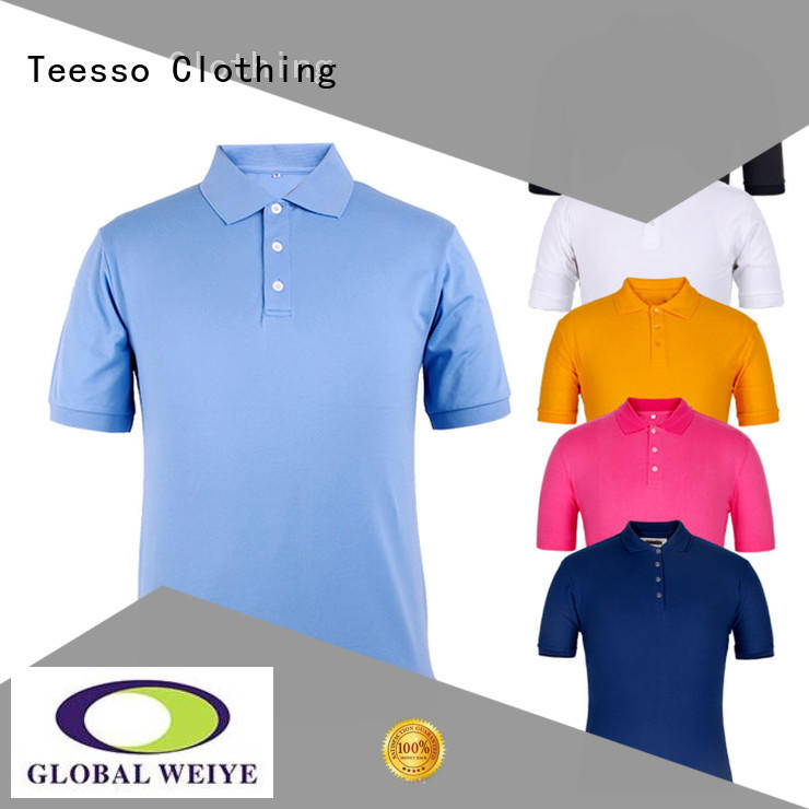 Teesso cotton polo shirts factory from china