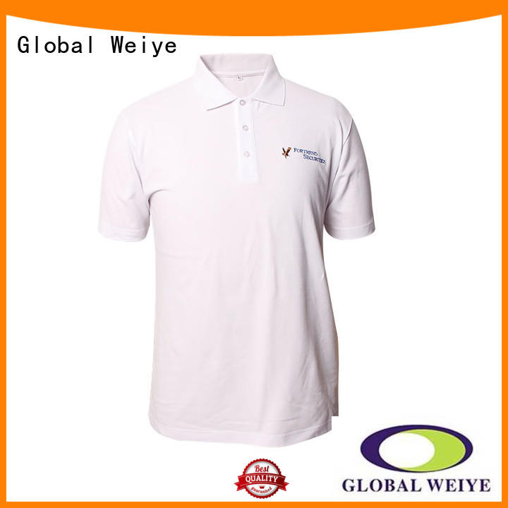your casual striped slim polo shirts t shirts Global Weiye Brand
