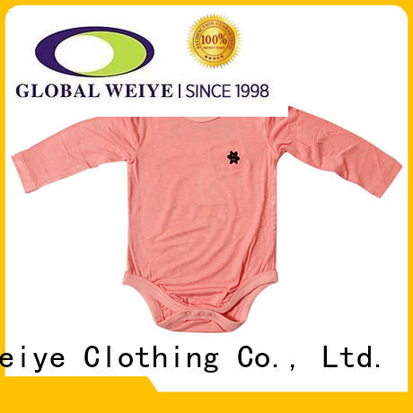 cotton design Global Weiye Brand baby infant clothes