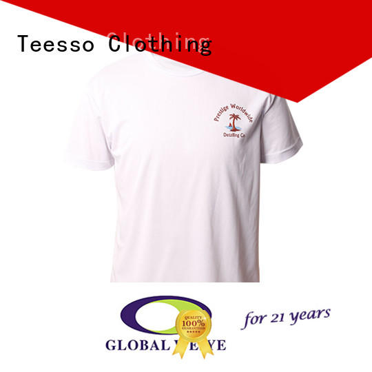 Teesso fitted t shirts mens manufacturers for men
