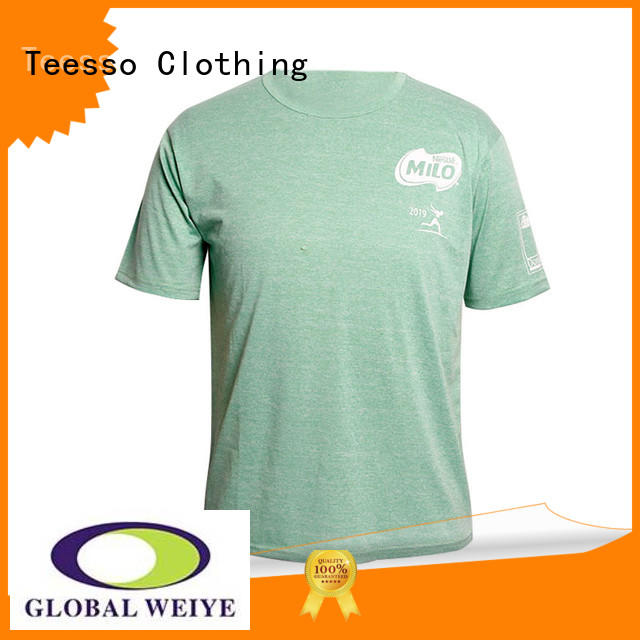 Teesso fitted t shirts mens for business wholesalers