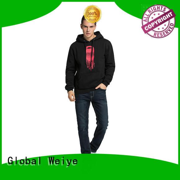 Global Weiye women cool hoodies for men hoodie ladies