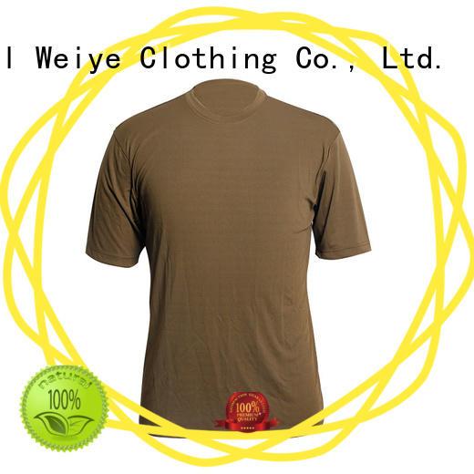 Global Weiye plain tee shirts apparel for men