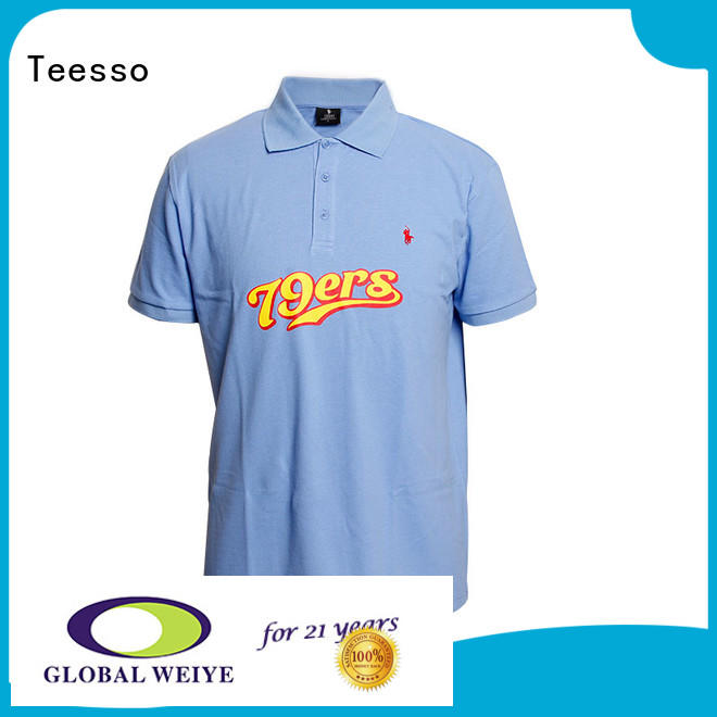 Teesso men polo shirt suppliers for sale