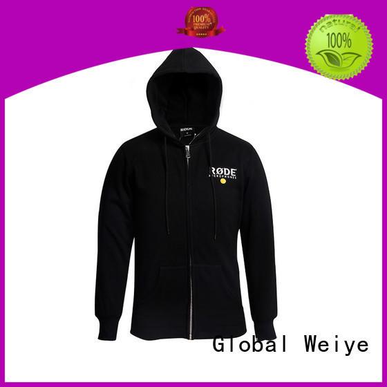 Global Weiye designed womens zip up hoodie ladies for men