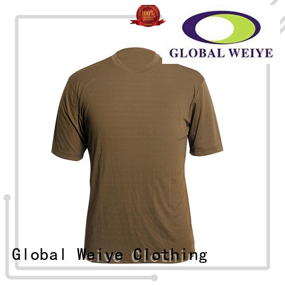hot sale blank tee shirts colorful wholesale Global Weiye