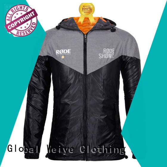 new jackets for mens zipper up for men Global Weiye