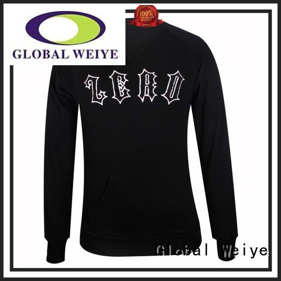 Global Weiye printed fashion sweatshirt no for sale