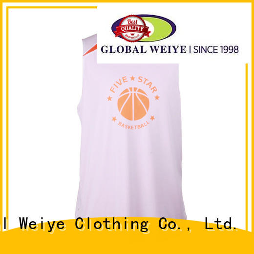 youth basketball jerseys for outdoor activities Global Weiye