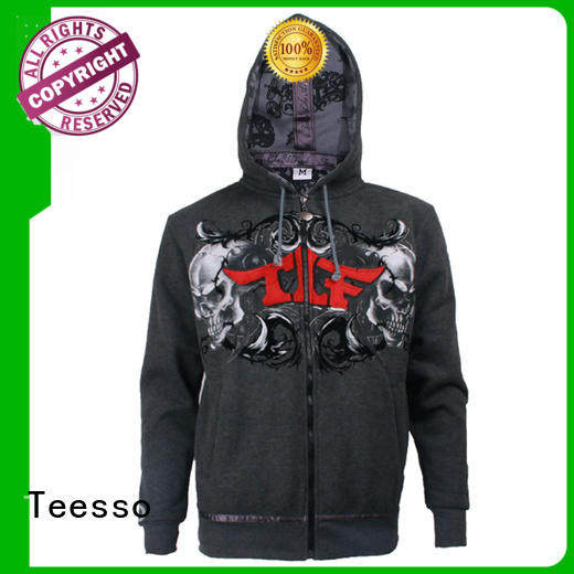 Teesso black womens hooded sweatshirts coat for women