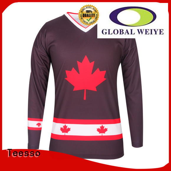 Teesso funny hockey jerseys can for men