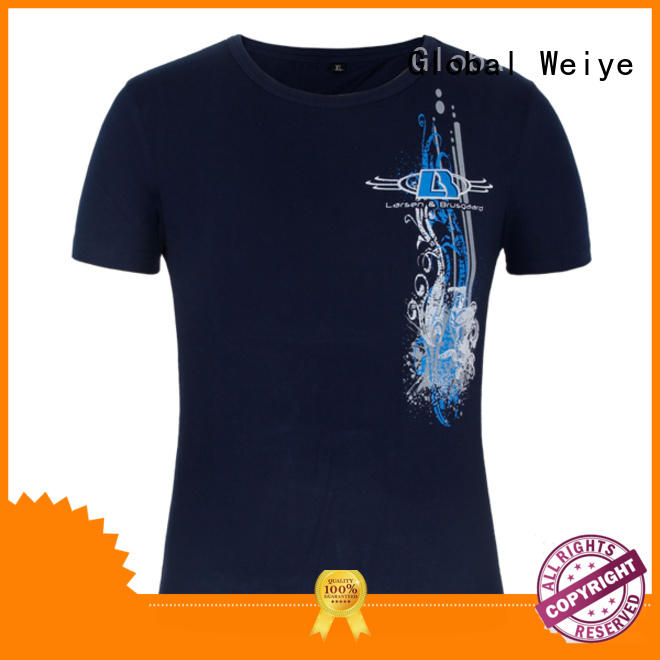 high quality printing t shirt on promotional for men Global Weiye