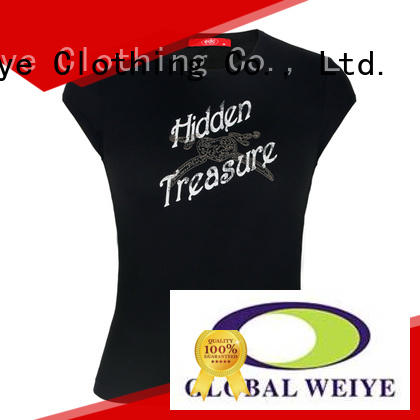 high quality basic tees womens customized for girls Global Weiye