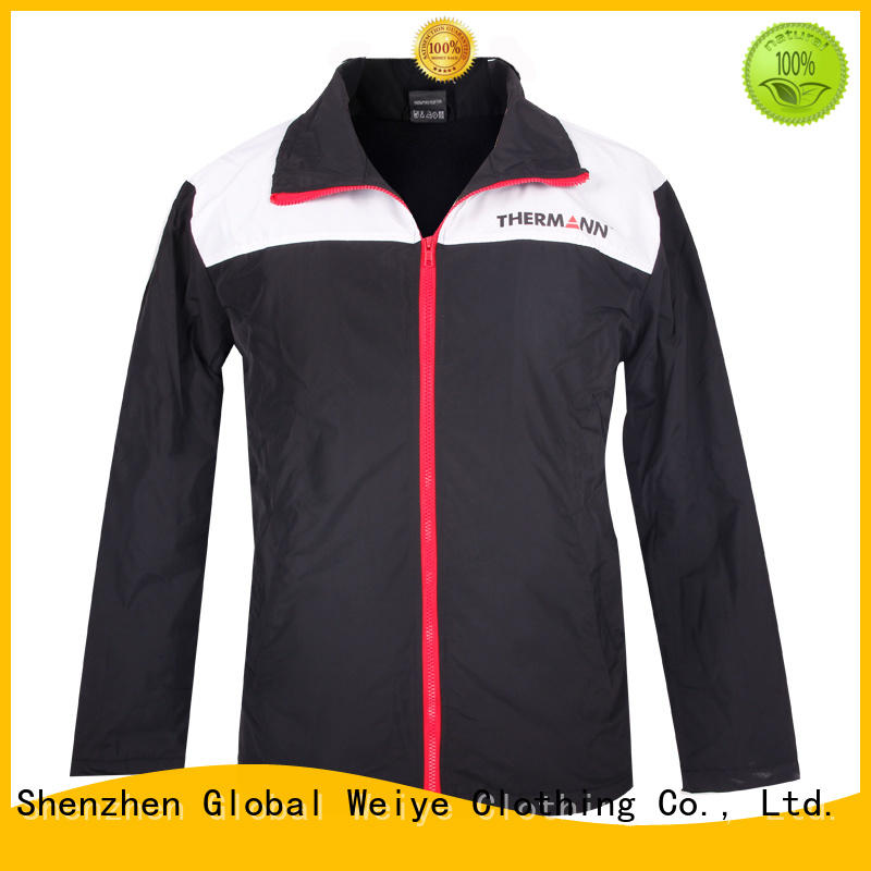 Global Weiye blue black winter jackets for men