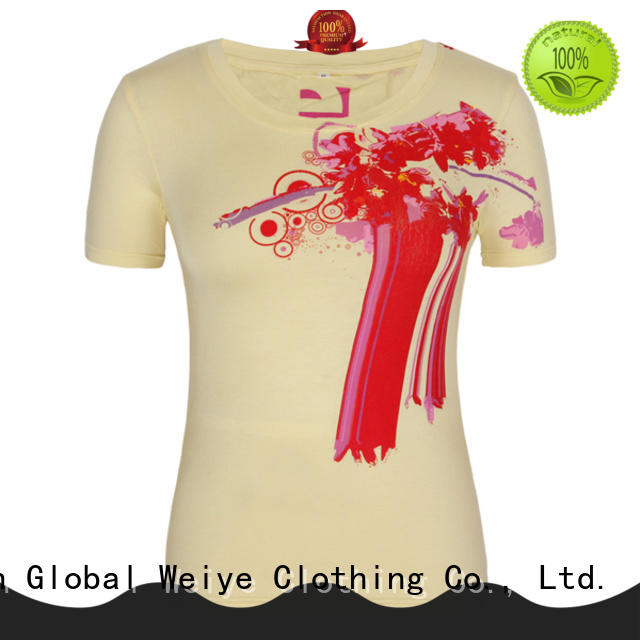 Global Weiye casual v neck womens shirts for sale