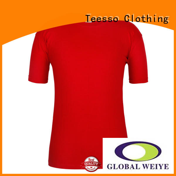 Teesso green plain t shirts online cotton wholesale