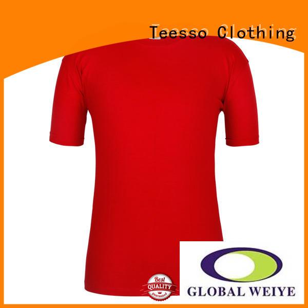 Teesso green plain t shirts online cotton wholesale