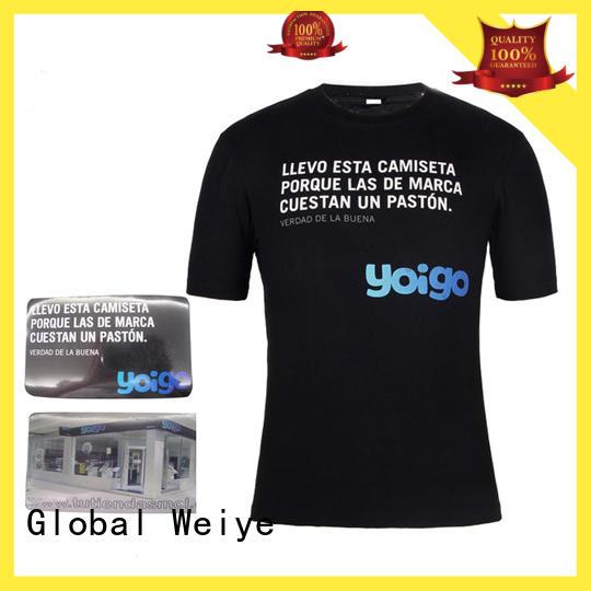 Global Weiye design compressie shirt neck for sale
