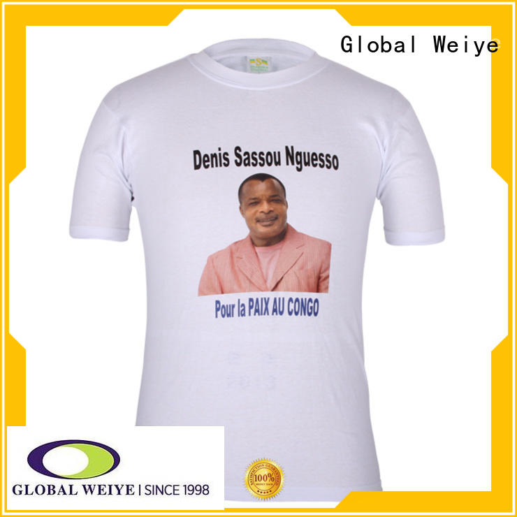 Global Weiye sleeveless funny election t shirts hot sale for sale