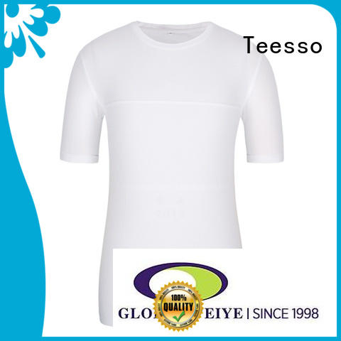 Teesso plain fitted t shirts with crew neck for women