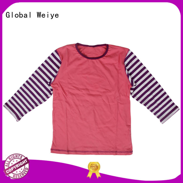 Global Weiye high quality youth boys shirts short sleeves for sale