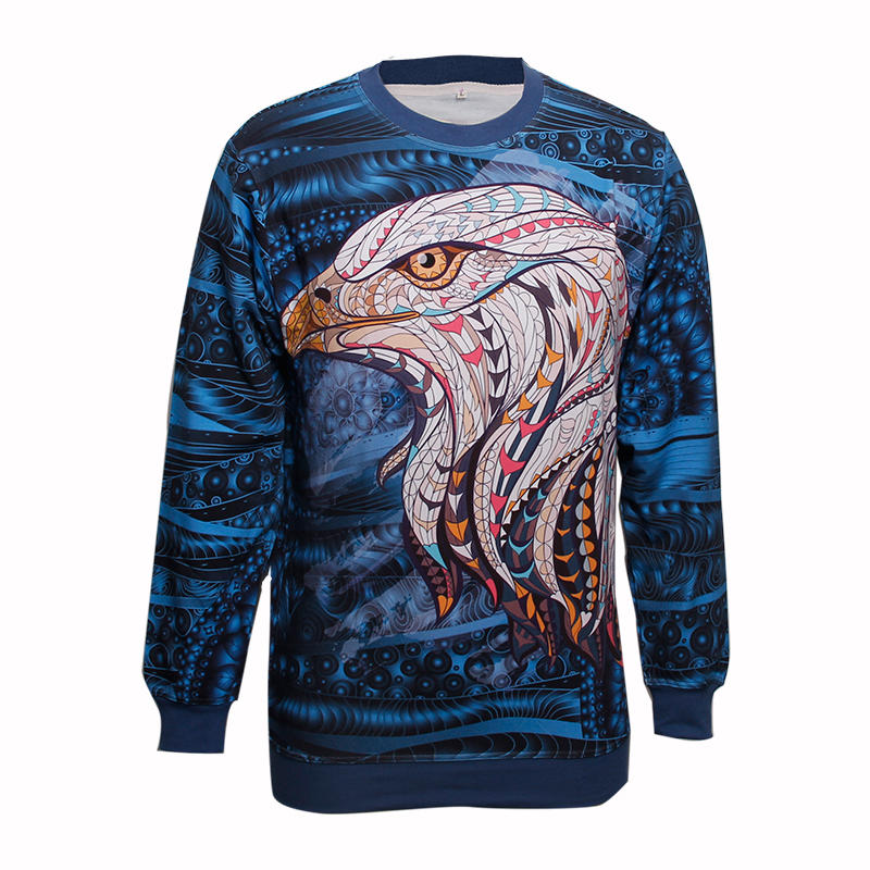 Sweatshirt  Sublimation Printed Mens Wholesale