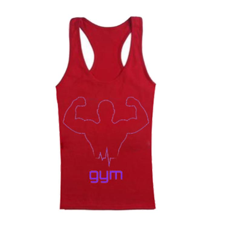 Tank Top For Men Design Your Own Cotton Plain Bodybuilding Custom