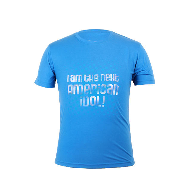 Newly promotional cheap custom printed t shirt design template