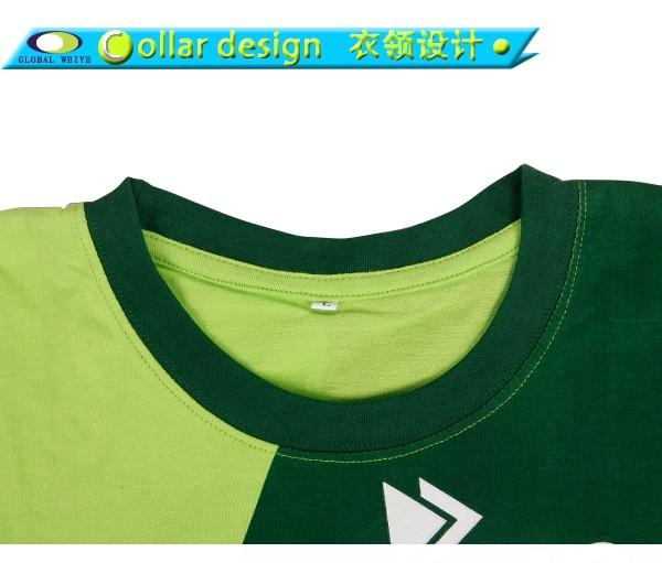 colorful print logo on shirt cotton for children Global Weiye